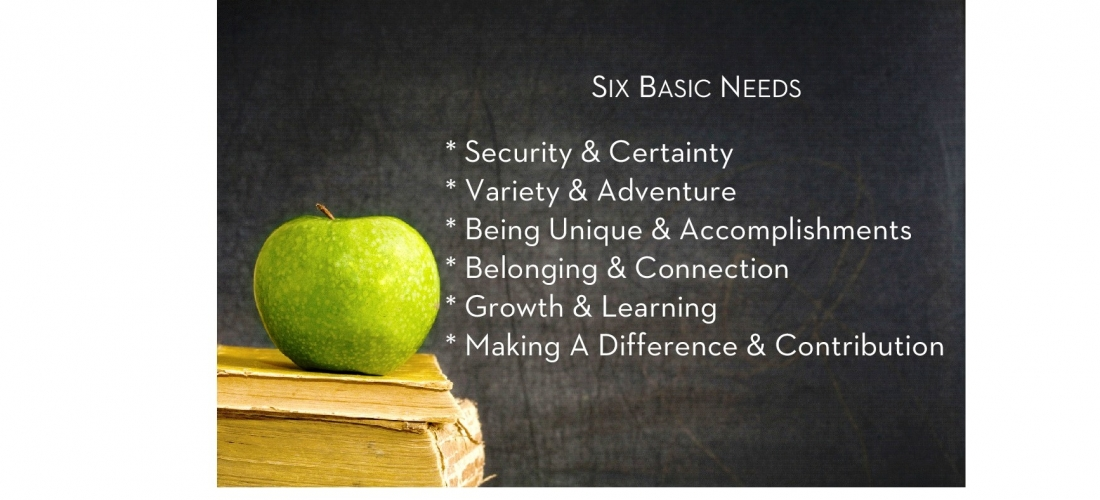 Can Our Basic Needs Change? by Tessa Cason
