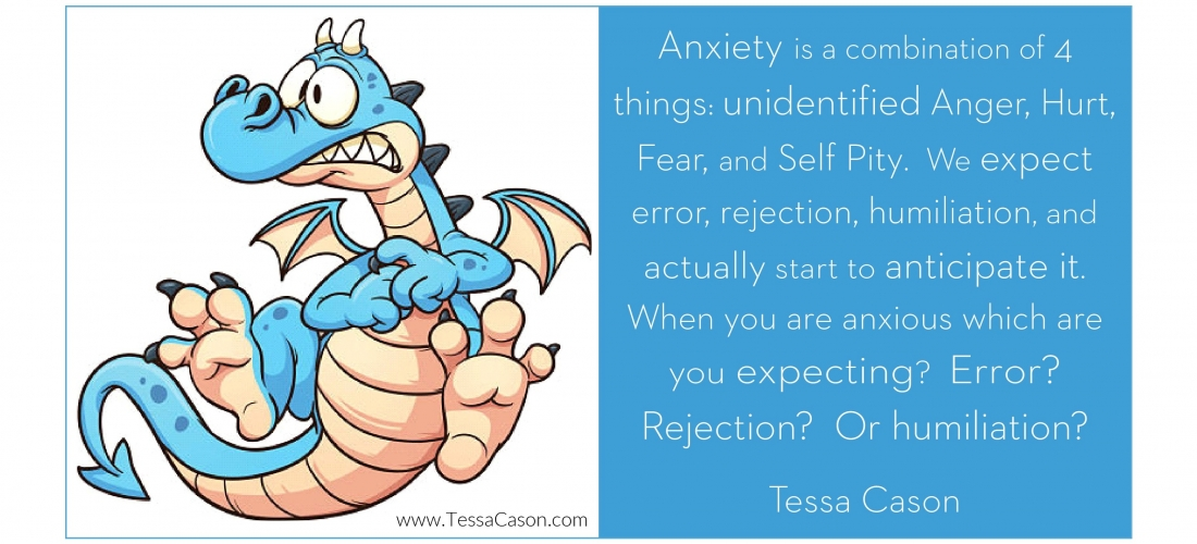 Question – Anxiety is a Combination of Four Things by Tessa Cason