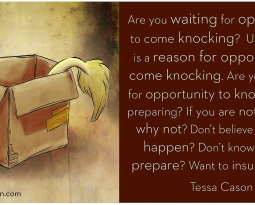 Question – When Opportunity Comes Knocking by Tessa Cason