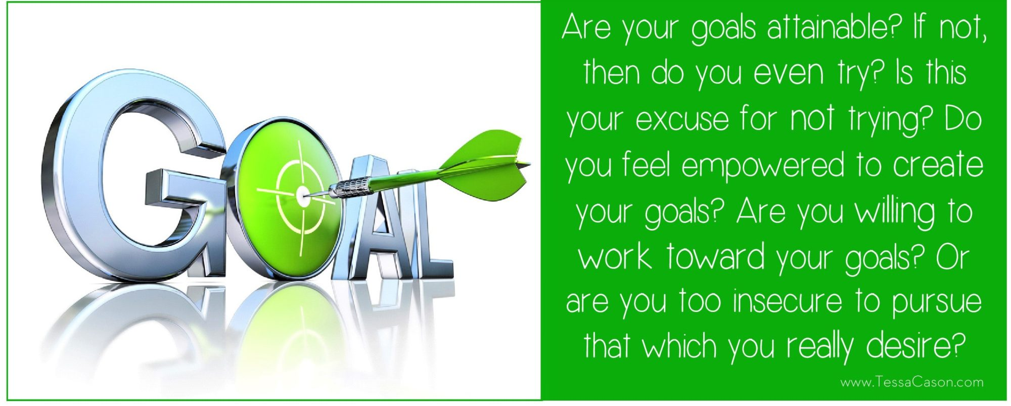 Are your goals attainable question