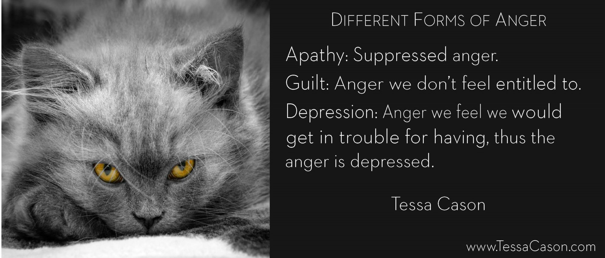 Different Forms of Anger