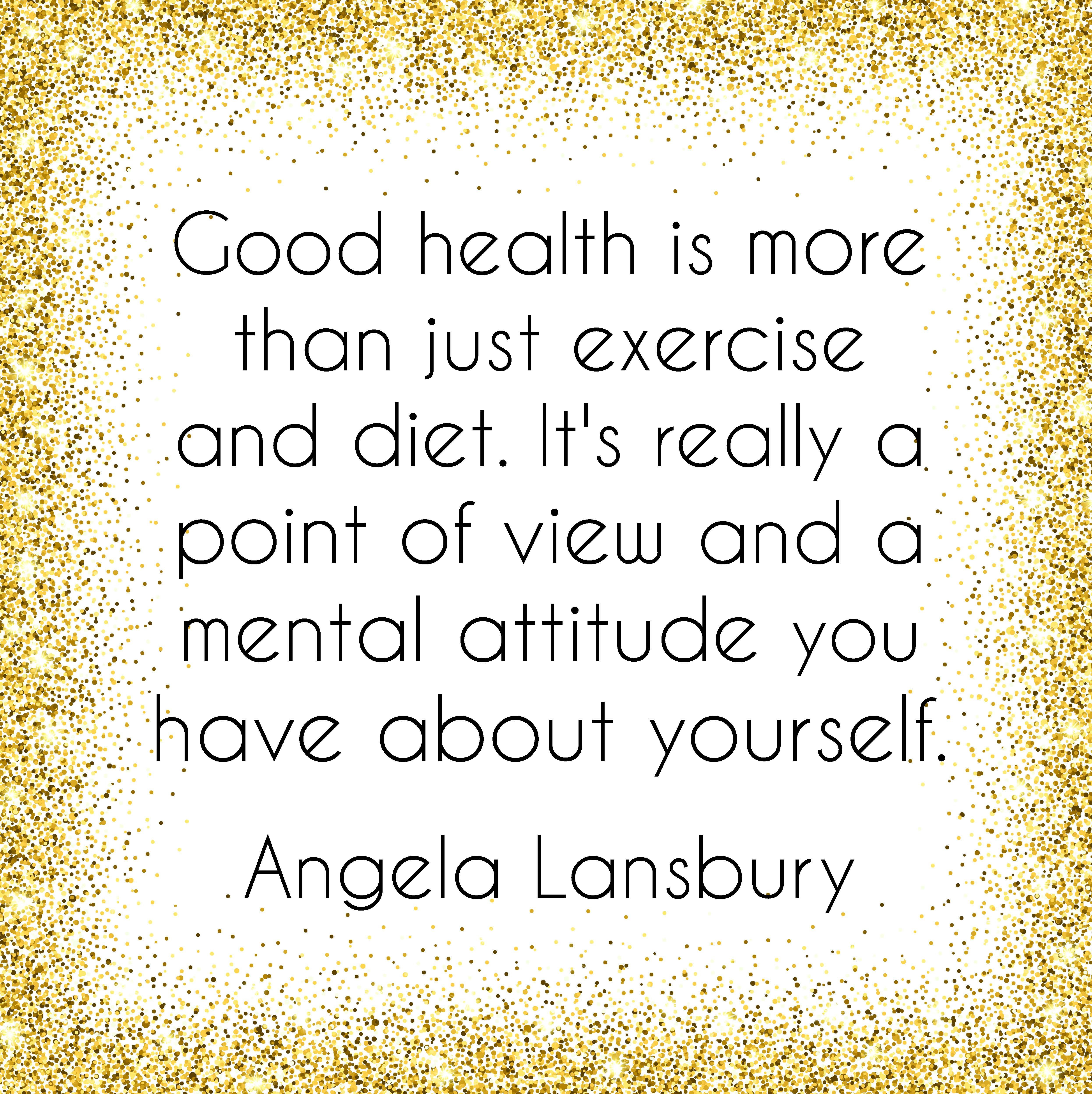 Good health is more Quote