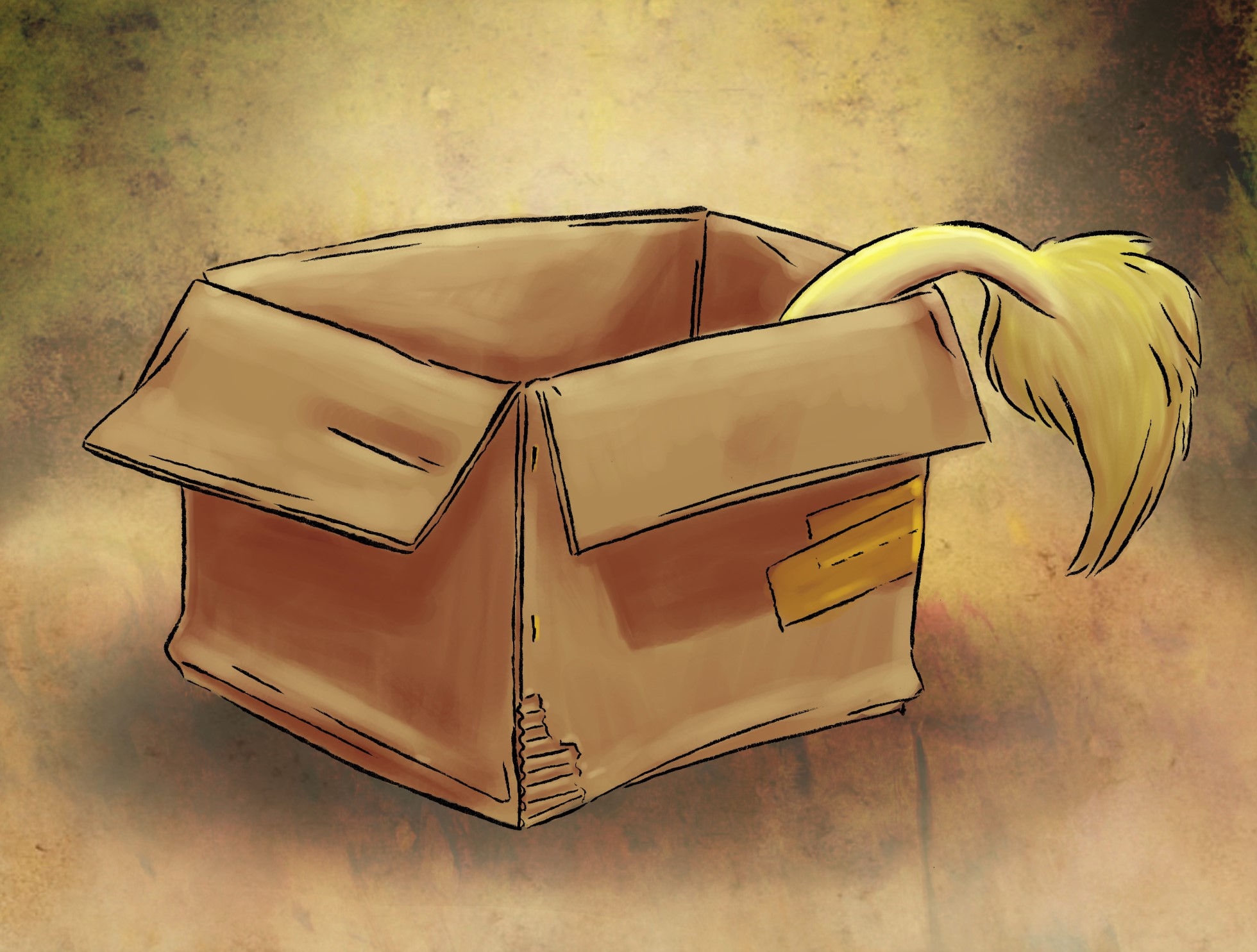 Lion in a Box