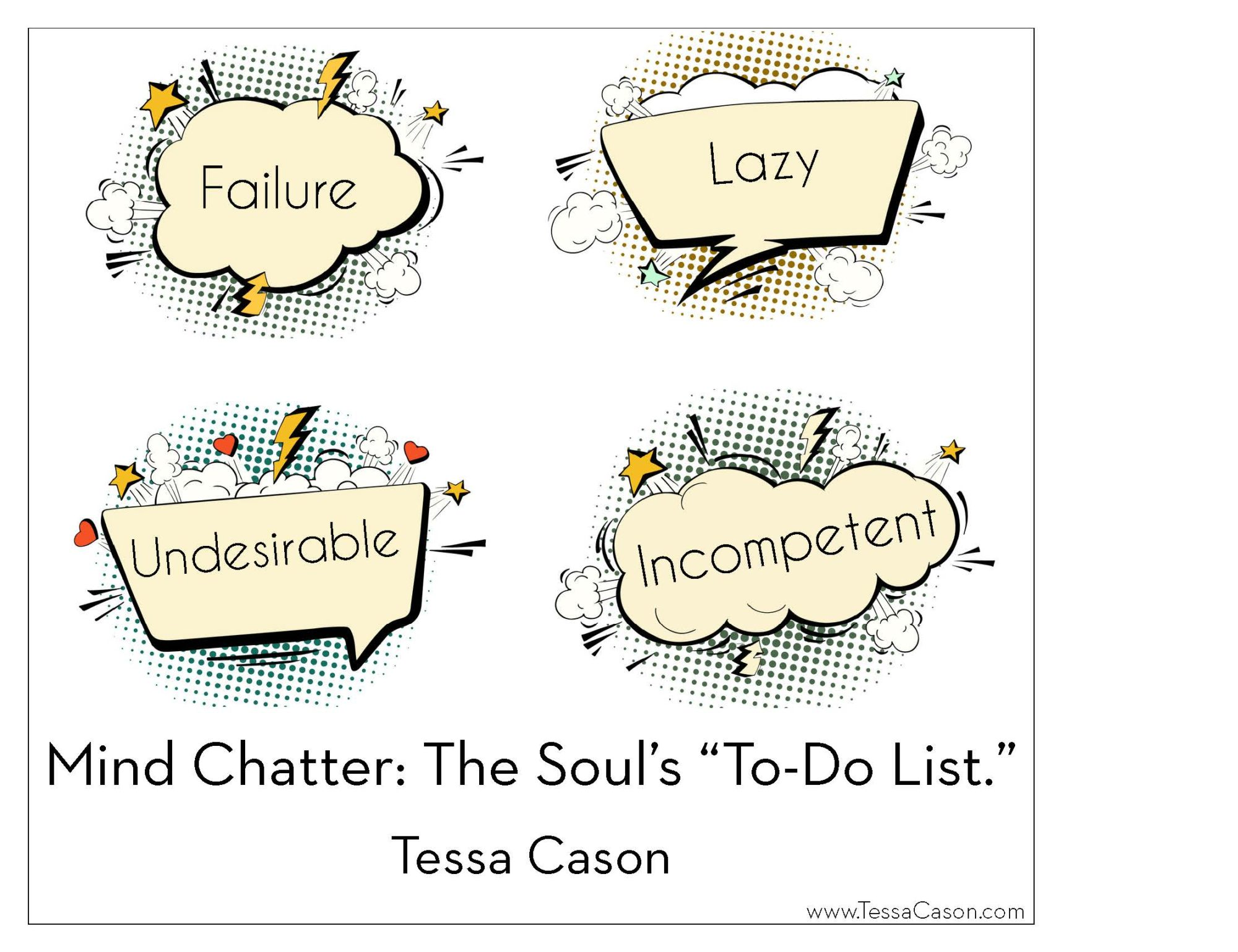 Mind Chatter The Soul's to do list