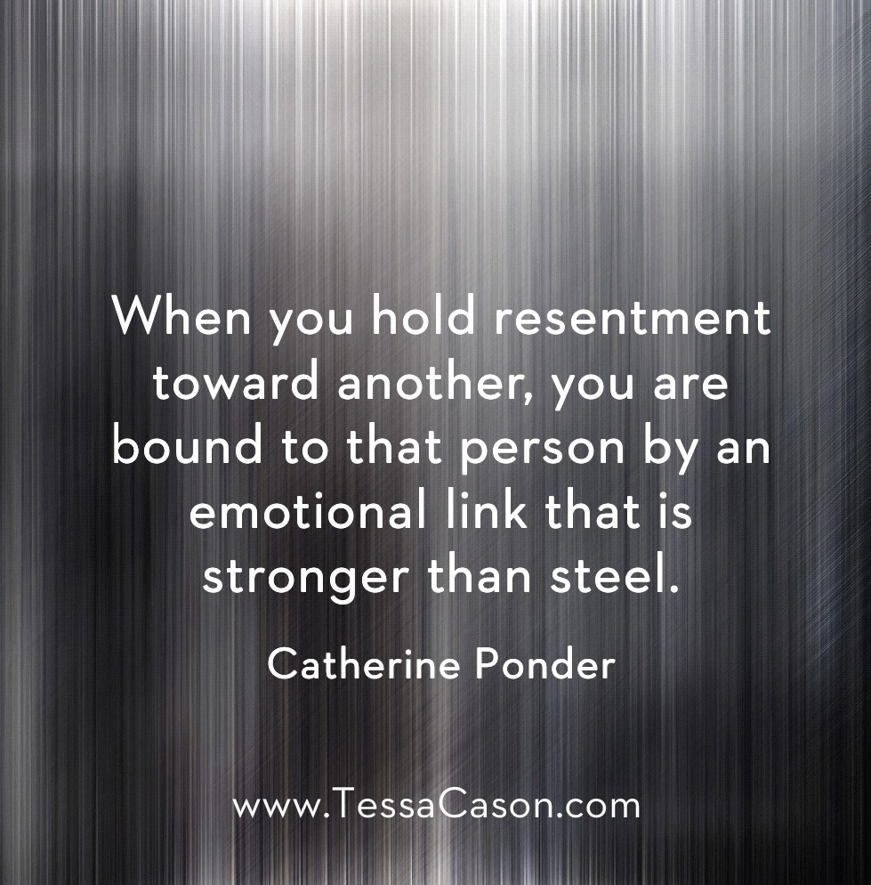 Resentment towards another