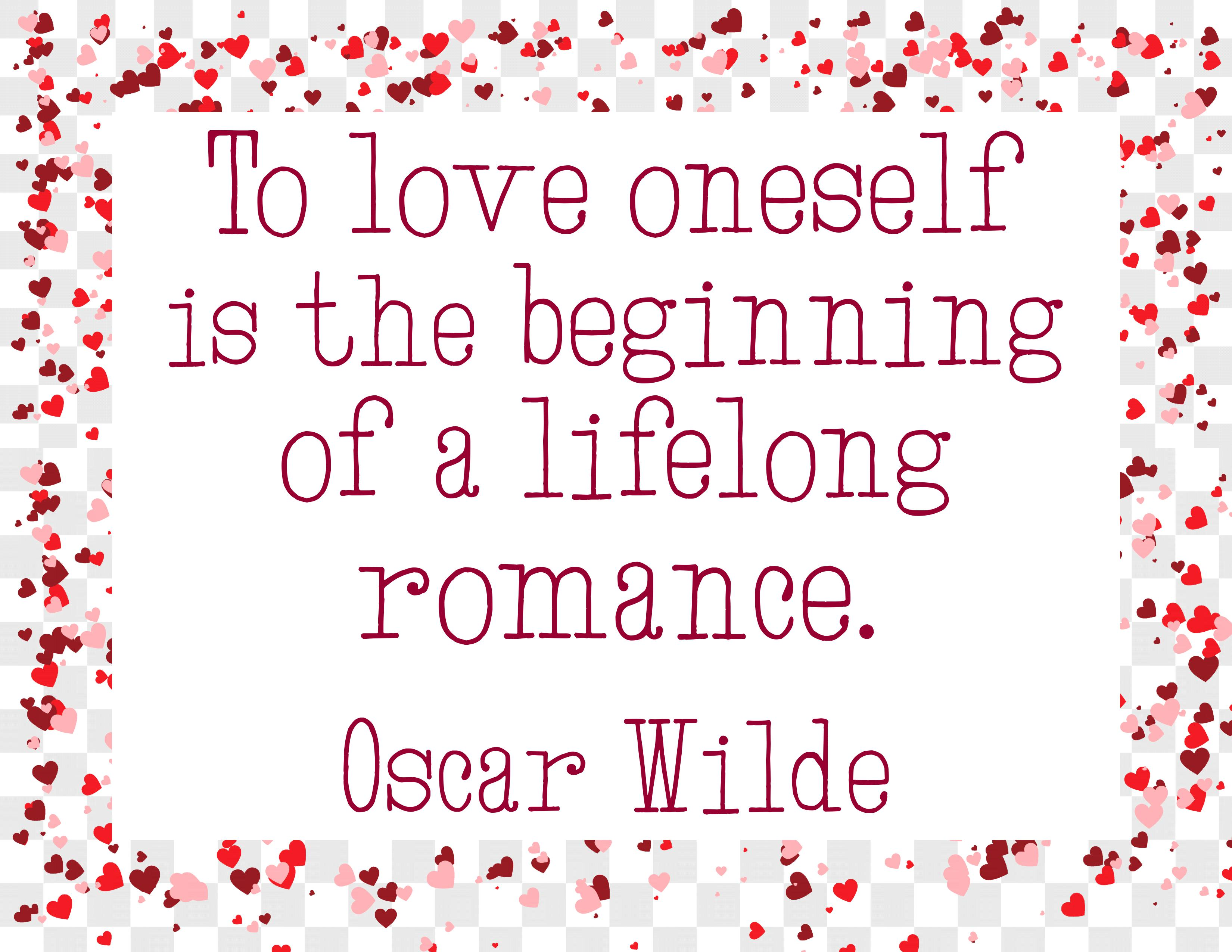 To Love Onseself Quote