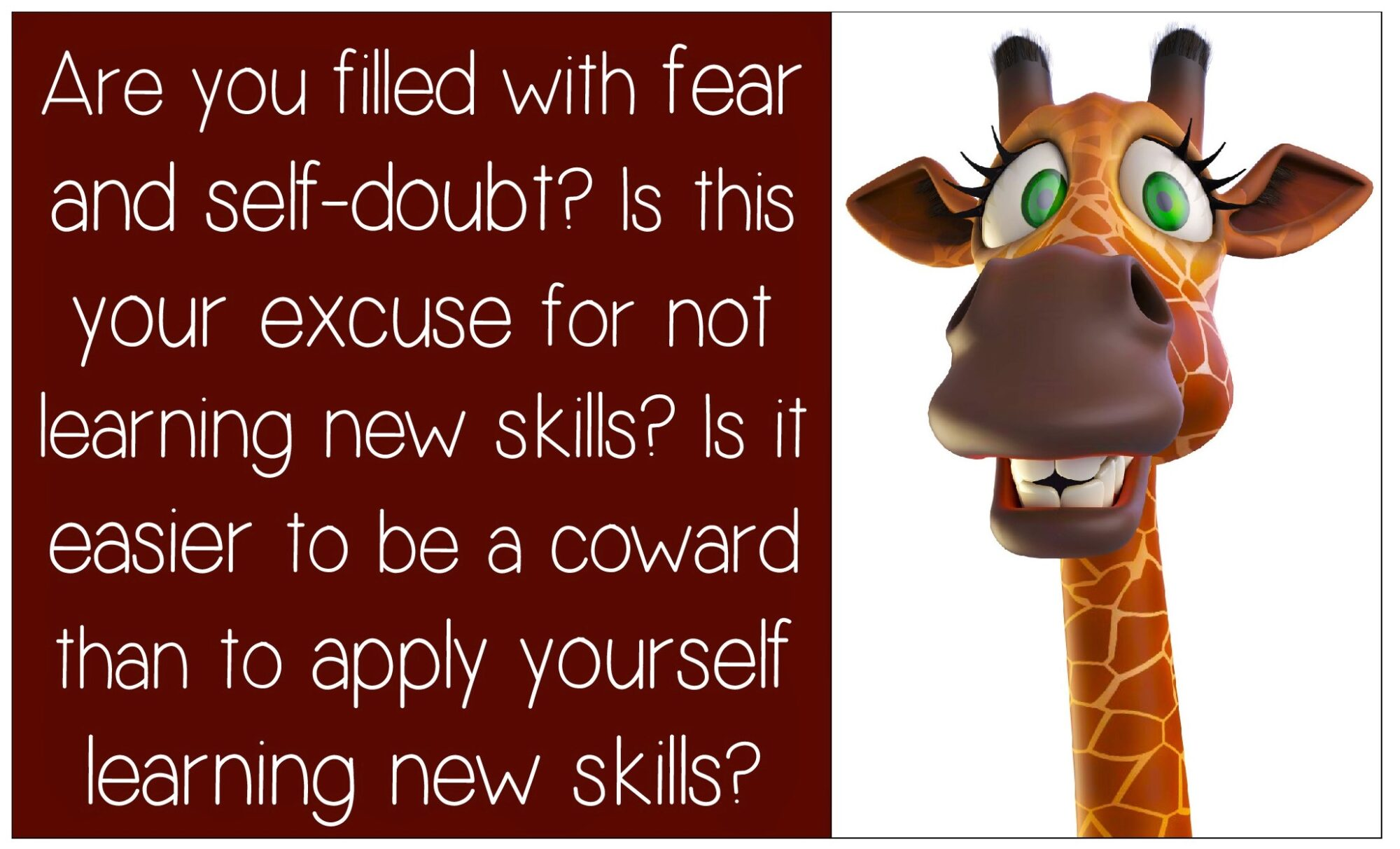 Are You Filled with Fear and Self-doubt