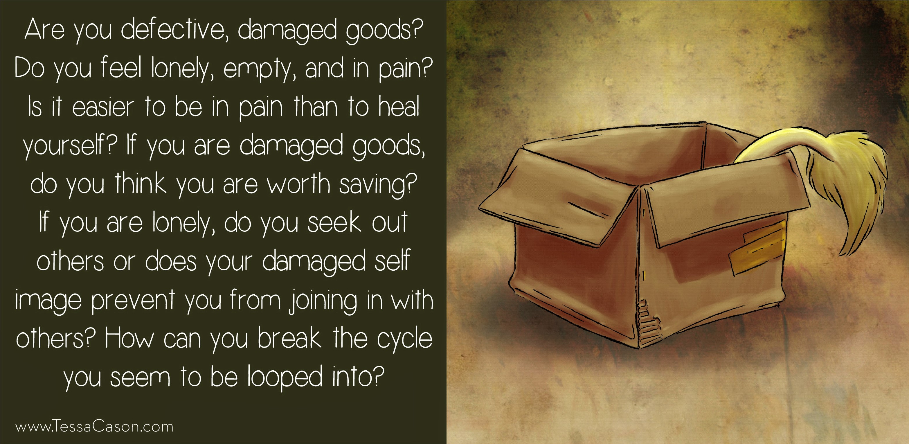 Are you defective, damaged goods