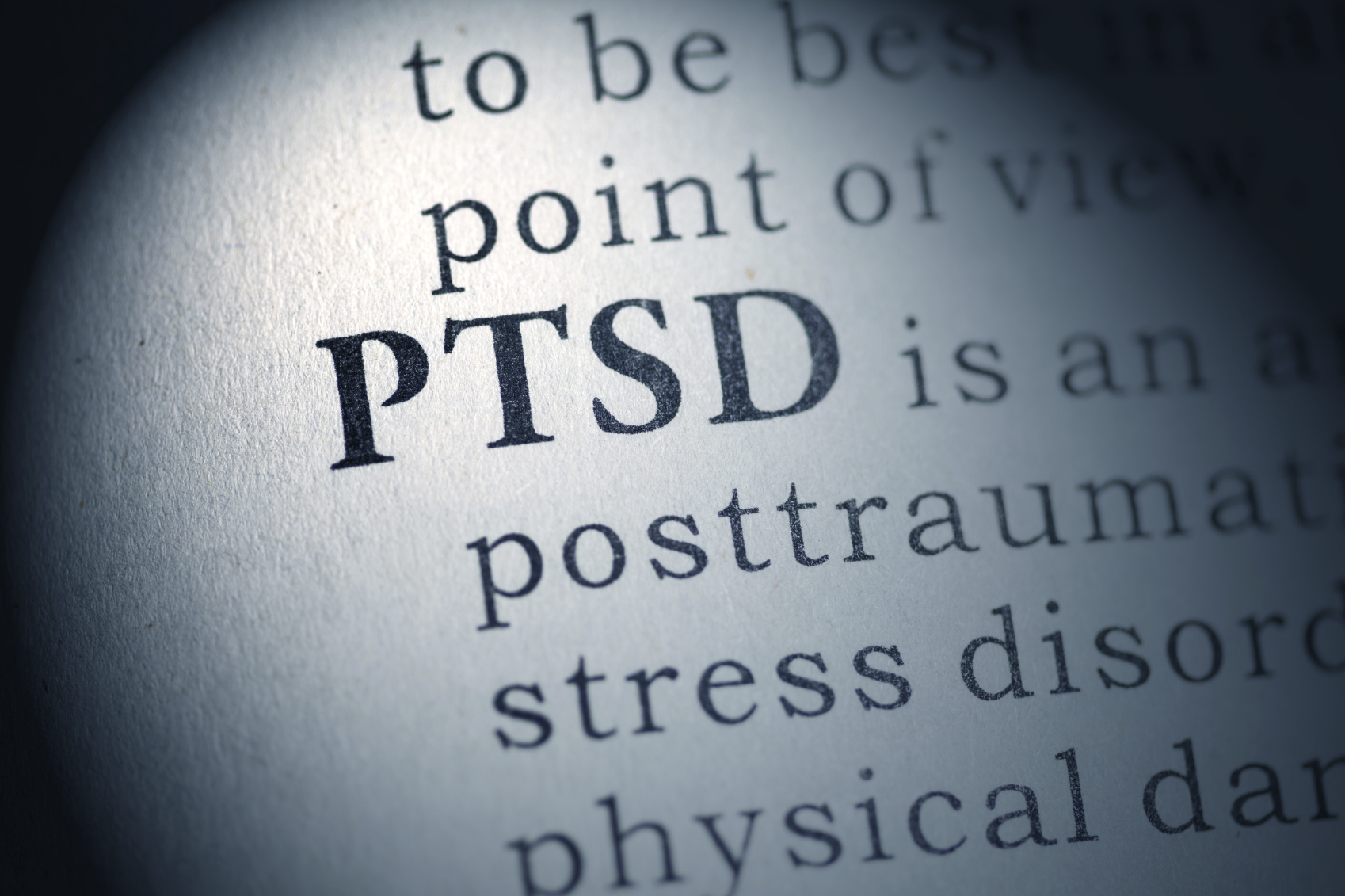 Fake Dictionary, Dictionary definition of the word PTSD. Post Traumatic Stress Disorder