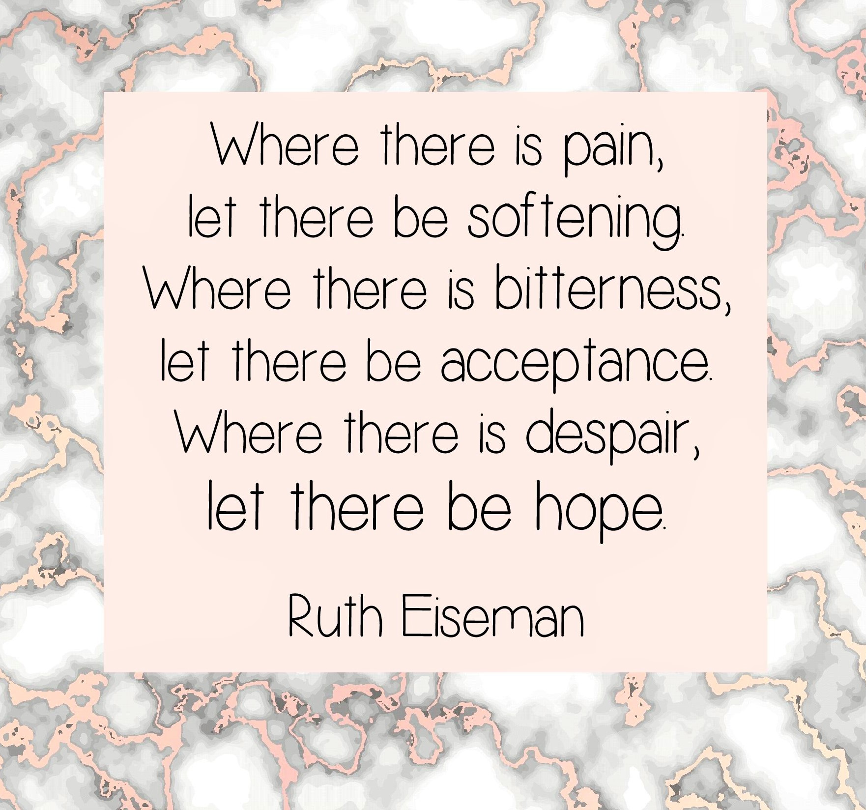 Where there is pain