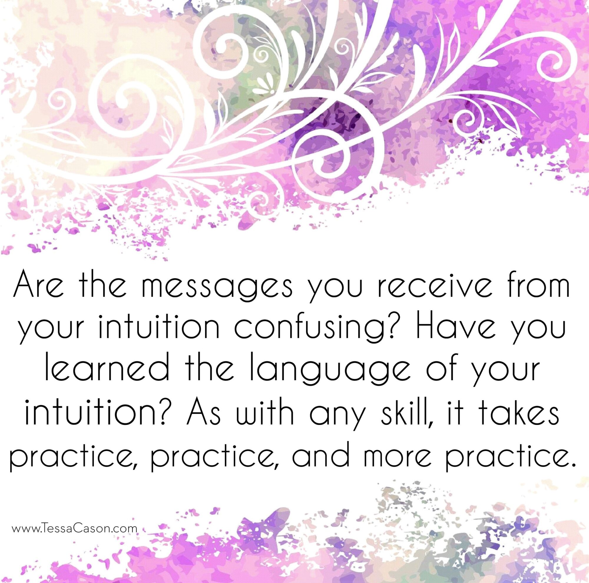 Are the messages you receive from your intuition confusing