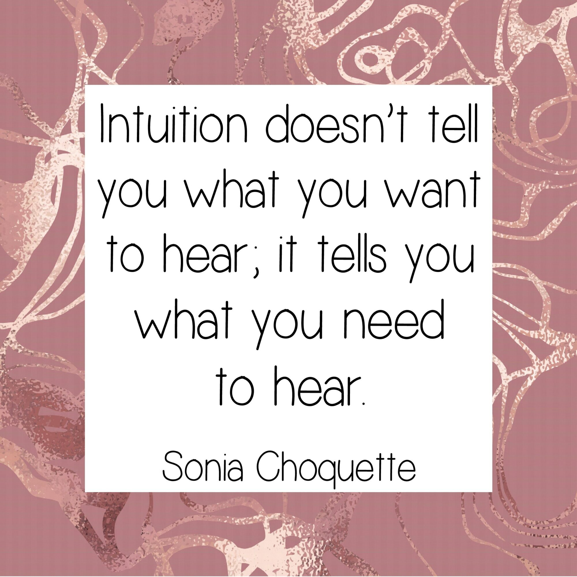 Intuition doesn't tell you want you want to know
