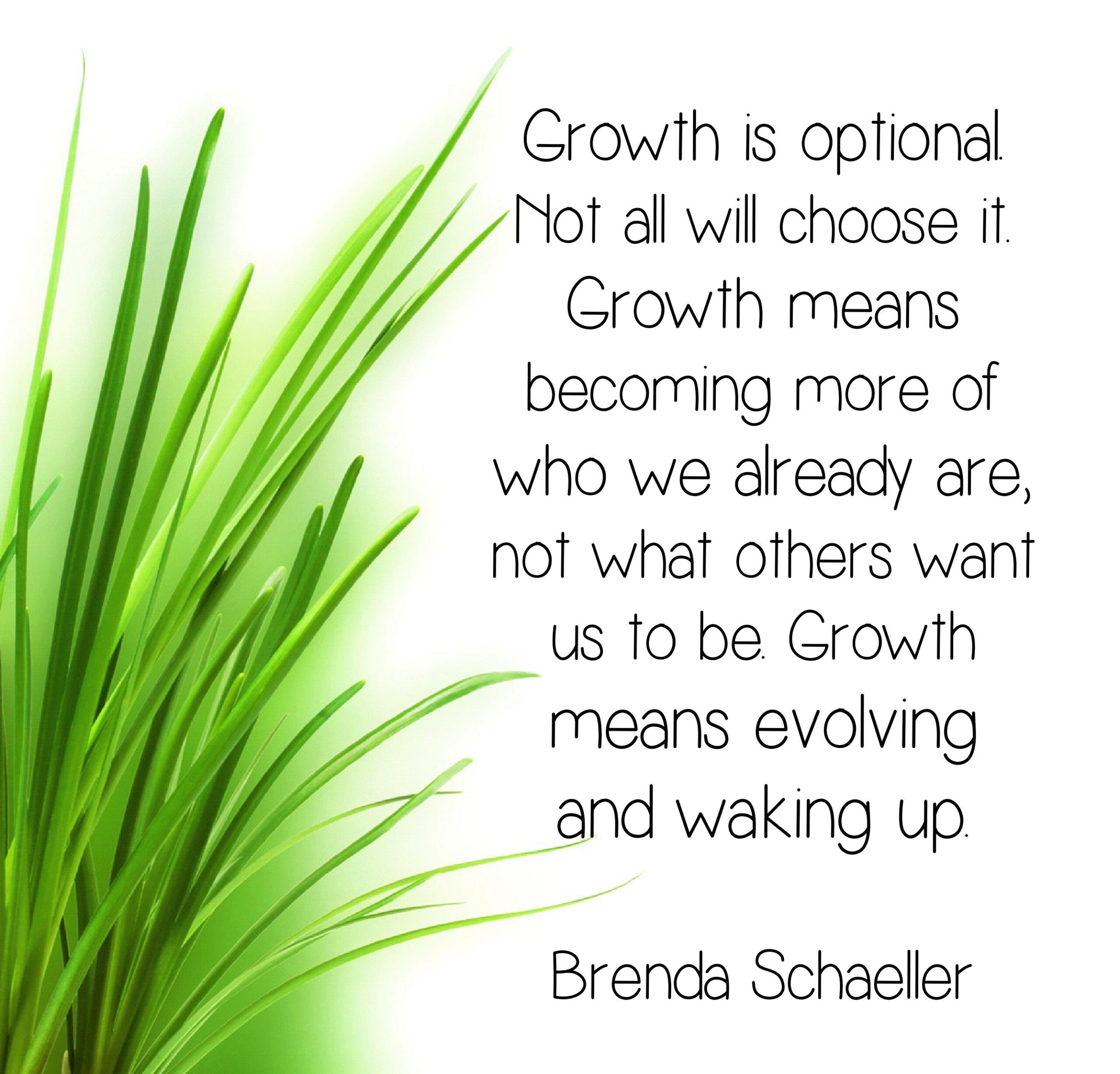 Growth is optional