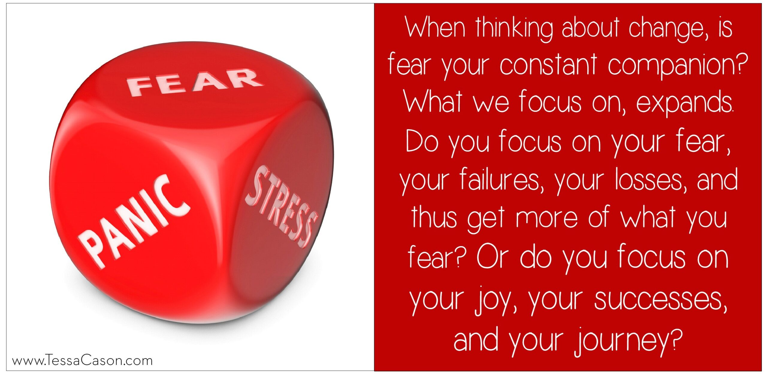 Is fear your constand companion