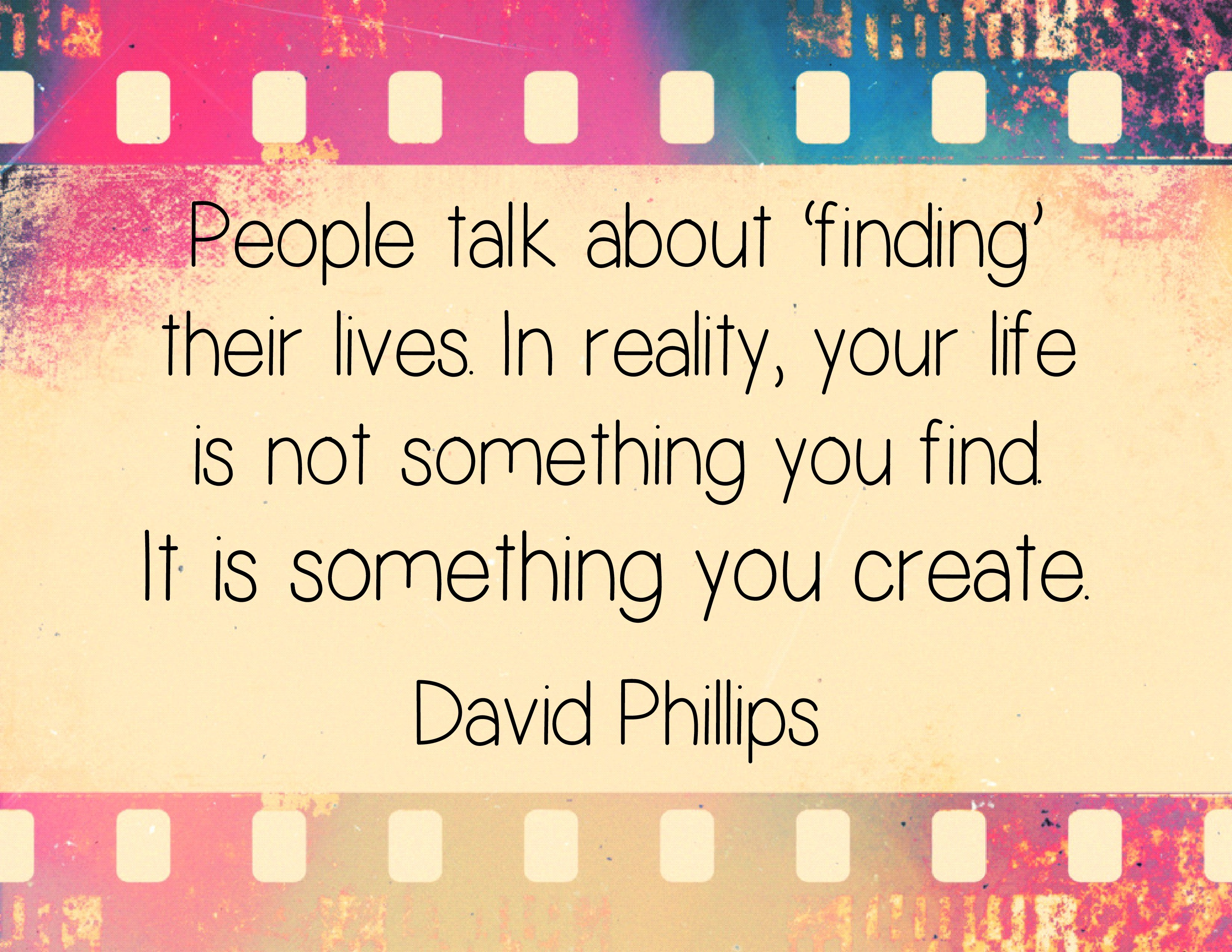 People talk about finding their lives
